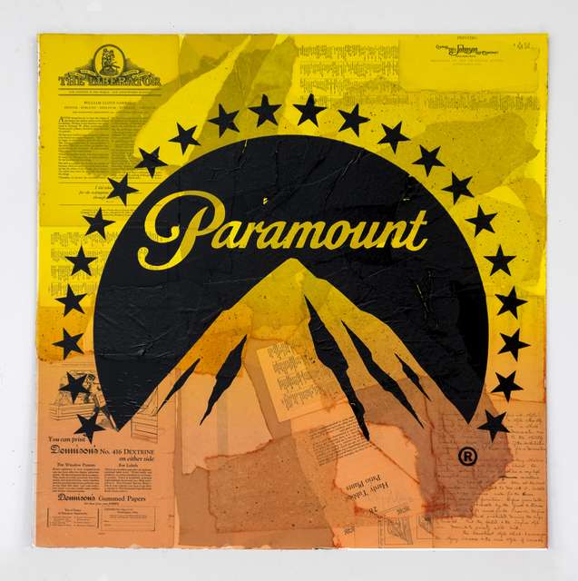 , 'PARAMOUNT (YELLOW MOUNTAIN),' 2018, Gary Lichtenstein Editions