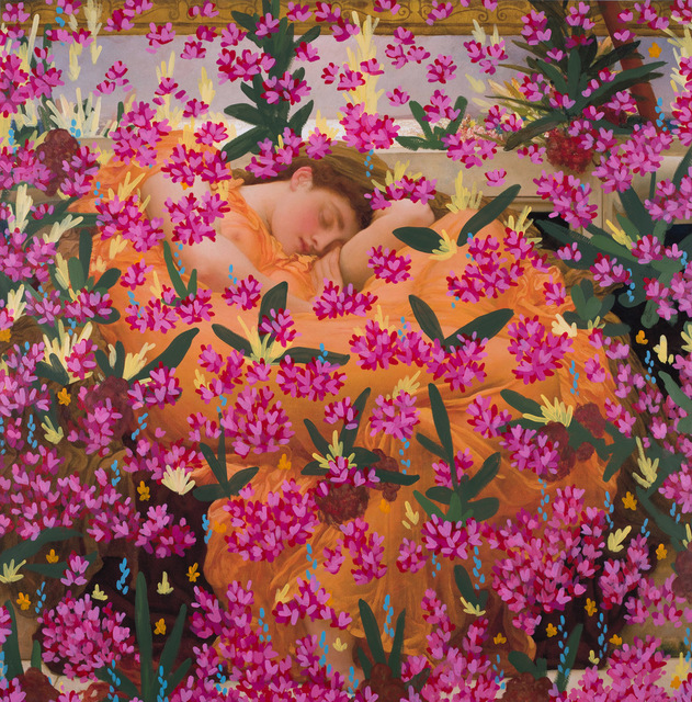 , 'Untitled (Flaming June by Frederic Leighton, 1895),' 2017, Danziger Gallery