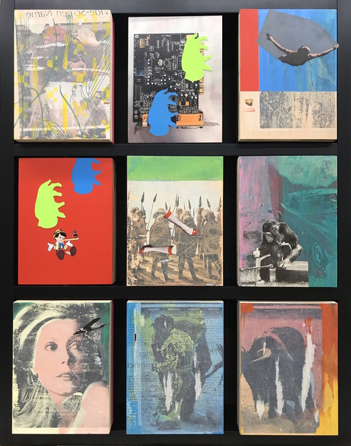 , 'Rise/Thinking About Rauschenberg and Baldessari,' 2017, AFA Gallery