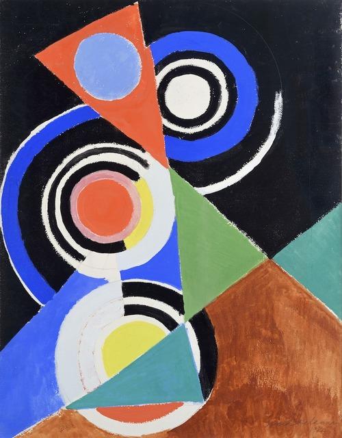 , 'Composition pour Jazz, 2e série,' 1952, Galerie Zlotowski