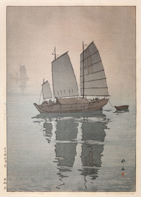 , 'Sailing Boats - Mist,' 1926, Ronin Gallery