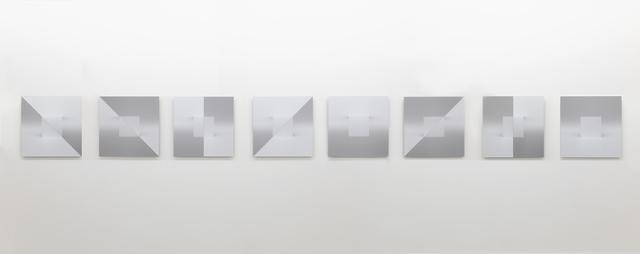 , 'Variations sur le plein, le vide, l'envers et l'endroit (Element 1-8) ,' 2017, Galerie Nicolas Robert