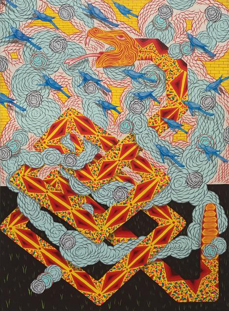 , 'Serpent in Distress,' 2017, Hosfelt Gallery