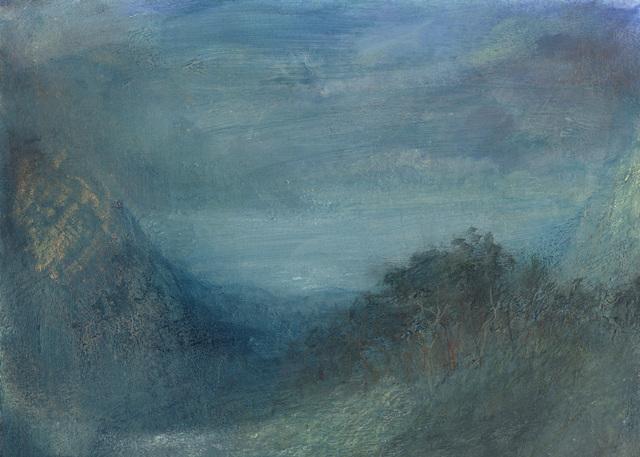 , 'Landscape L1095 - Amalfi Series, A View from Tramonti to the Tyrrhenian Sea Beyond ,' 2018, Alan Kluckow Fine Art