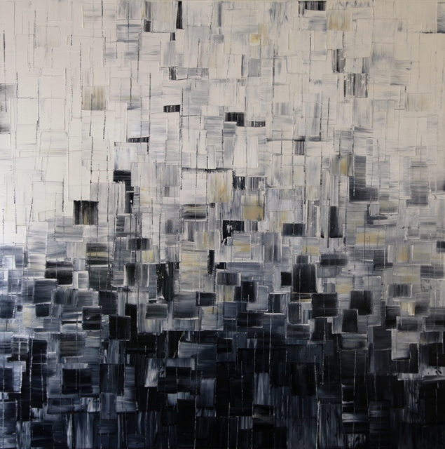 Carole Jury, 'Sweet Darkness', 2017, Painting, Oil on Cotton Canvas, Alessandro Berni Gallery