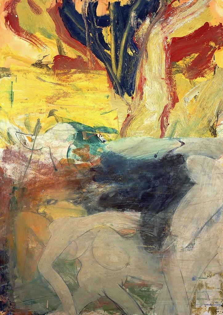 willem de kooning woman 1 Willem de kooning - mujer i, 1950-52 – oleo sobre lienzo, 1927- 1473 cm - nueva york, museum of modern art (moma.