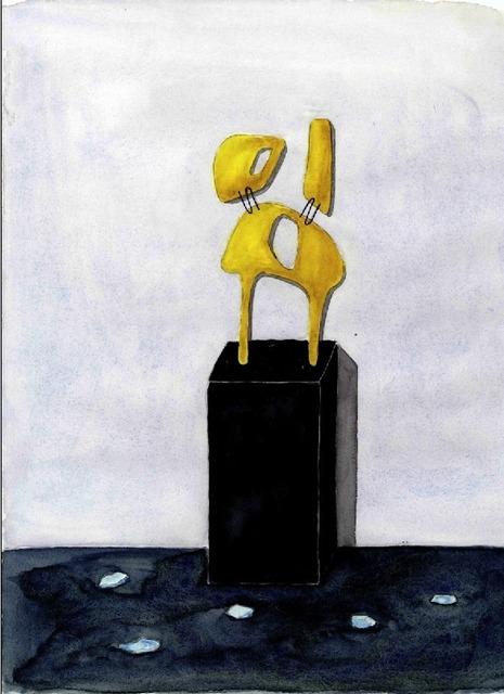 , 'Composizione di Oro,' 2012, Galleria Rossella Colombari