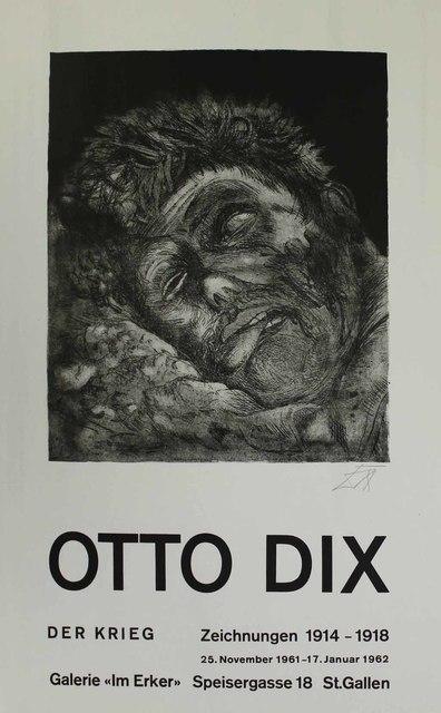 Otto Dix, 'Toter (St. Clément) [Dead Man (St. Clément)]', 1961, Sylvan Cole Gallery