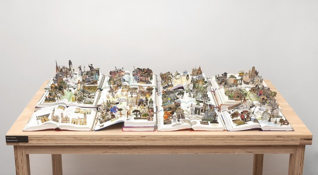 , 'Books from the series The World,' 2011, Zipper Galeria