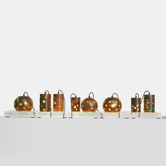 , 'Copper and Glass Pendants by Nanny Still,' 1960-1969, Almond & Co.