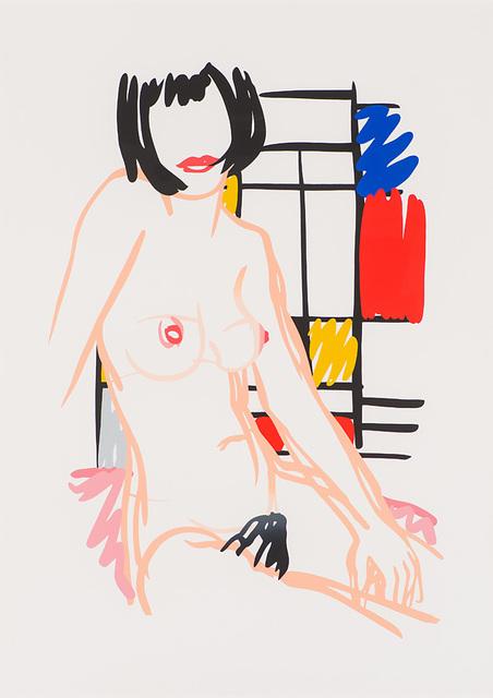 , 'Monica Sitting with Mondrian,' 1989, Larsen Gallery