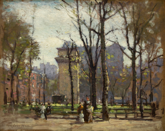 Paul Cornoyer, 'Washington Square Park', ca. 1900, Caldwell Gallery Hudson