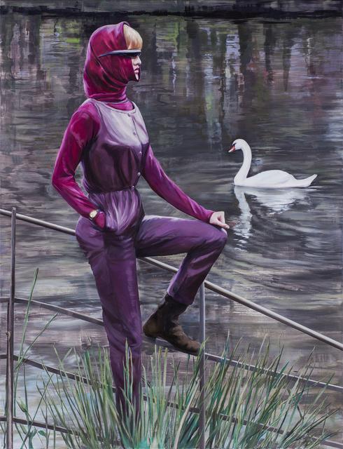 ", '""The Swan"" (after Norman Parkinson Foundation),' 2017, Simon Lee Gallery"