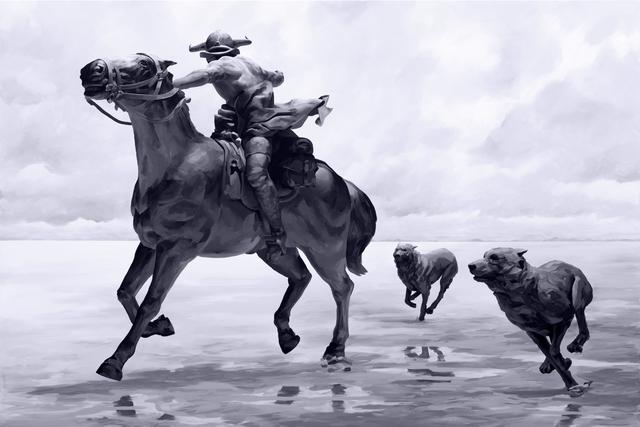 , 'Cavalier,' 2018, ArtCN