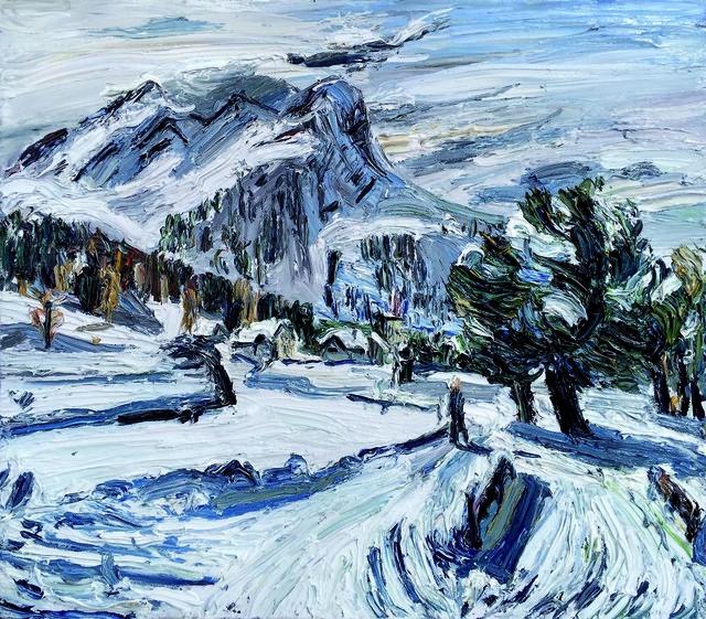 , 'Wintersonne, Engadin,' 2016, GALERIE URS REICHLIN