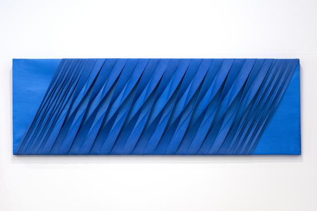 , ' Estroflesso space: Blue square,' 2011, Wook + Lattuada Gallery