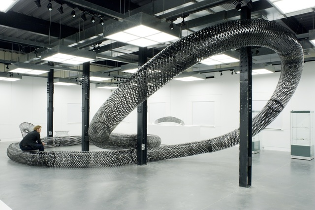 , 'Spun Bench Installation ,' 2005, Industry Gallery