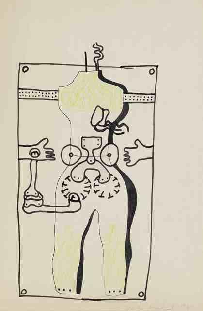Kiki Kogelnik, 'Untitled (Body Parts)', ca. 1965, Mitchell-Innes & Nash