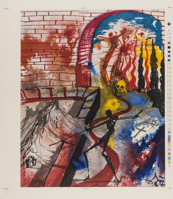 Salvador Dalí, 'Romeo e Julia (M & L 1601)', 1975, Print, Nine offset lithograph printed in colours, Forum Auctions