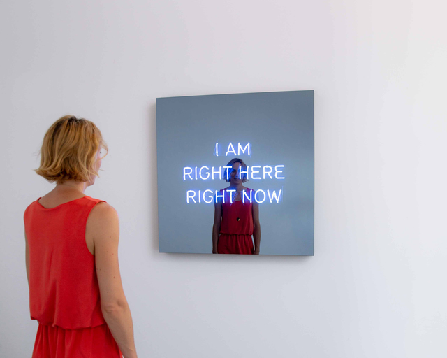 , 'I AM RIGHT HERE RIGHT NOW,' 2018, KÖNIG GALERIE