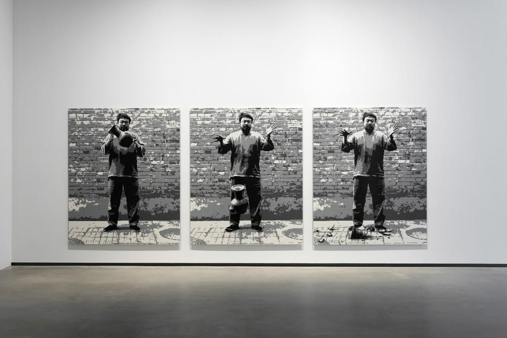 Ai Weiwei Dropping A Han Dynasty Urn Lego 2015 Artsy