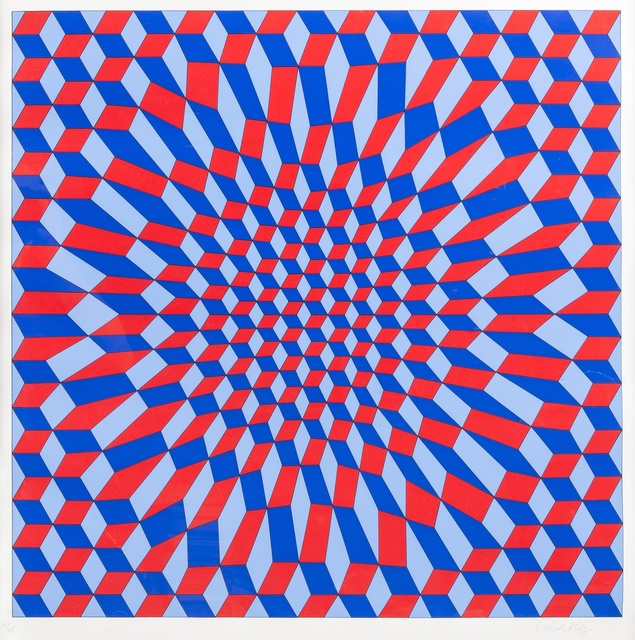 Victor Vasarely, 'Abstract Composition', Forum Auctions