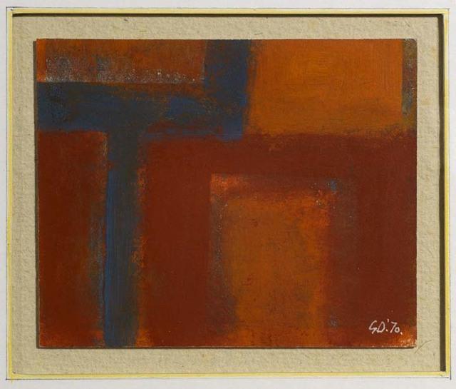 , 'Venetian Red - Interior,' 1970, Waterhouse & Dodd