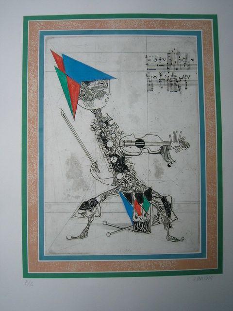 Alfred Finsterer, 'King Beat', 1973, Sylvan Cole Gallery
