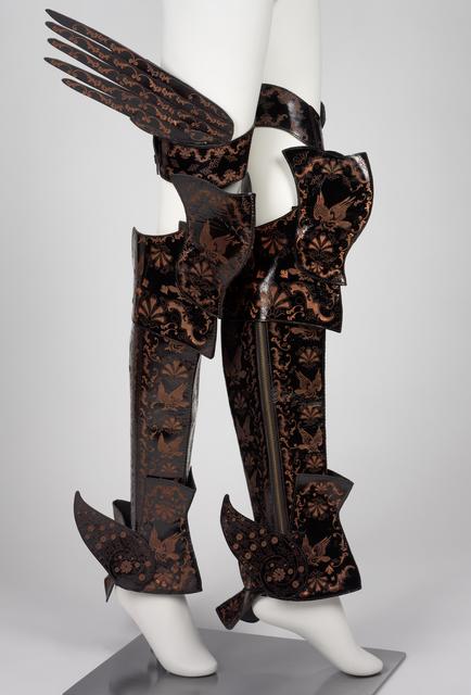 Manish Arora, 'Leg Armor', 2008-2009, RISD Museum