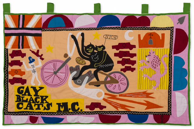 Grayson Perry, 'Gay Black Cats MC', 2017, RAW Editions: The Edit II