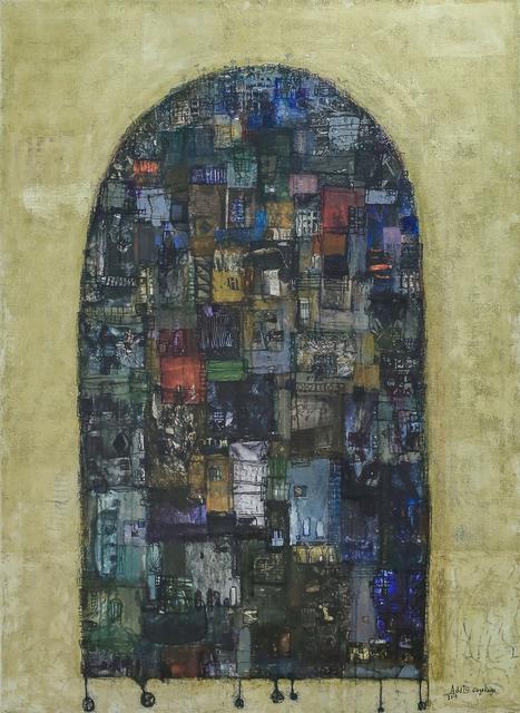 , 'Black Floating Tower,' 2017, Addis Fine Art