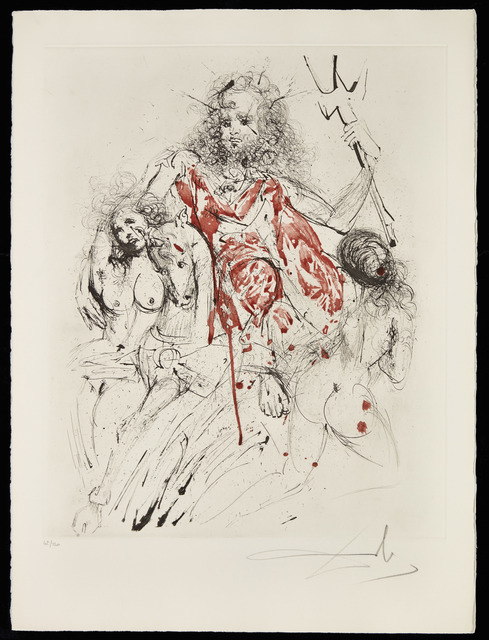 Salvador Dalí, 'Mythologie', 1963-65, Print, The complete set of 16 mixed media prints with engraving, drypoint and some with hand-colouring, on Arches wove paper, Christie's