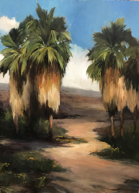 , 'Palm Path,' 2017, Sue Greenwood Fine Art