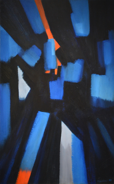 , 'Bleu-éclats,' 1955, Canadian Art Group
