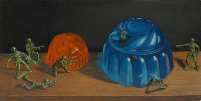 , 'Jello Wars II,' 2016, Bowersock Gallery