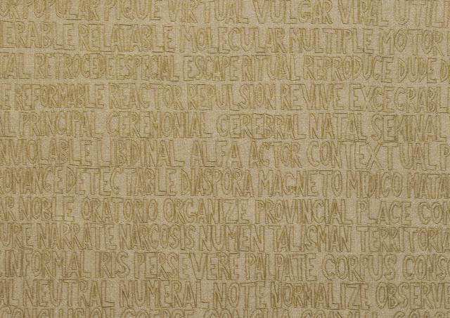 , 'Bilingual,' 2014, MARSO