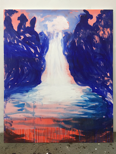 , 'I Am The River Behind The Wall,' 2018, LatchKey Gallery