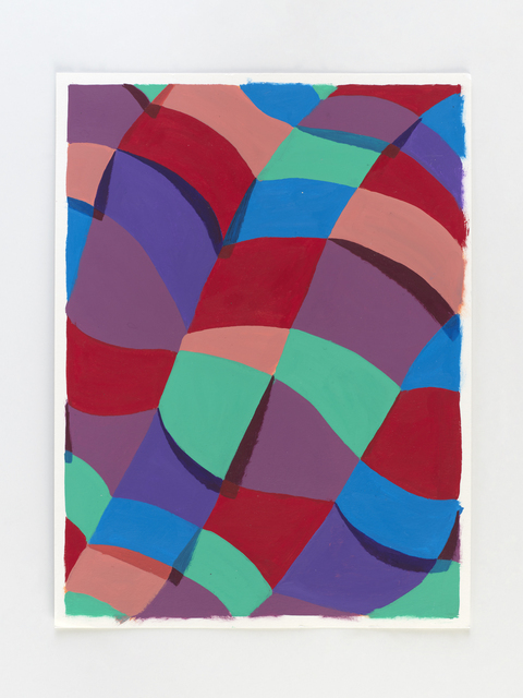 Corydon Cowansage, 'Untitled', 2020, Painting, Acrylic on paper, CHART