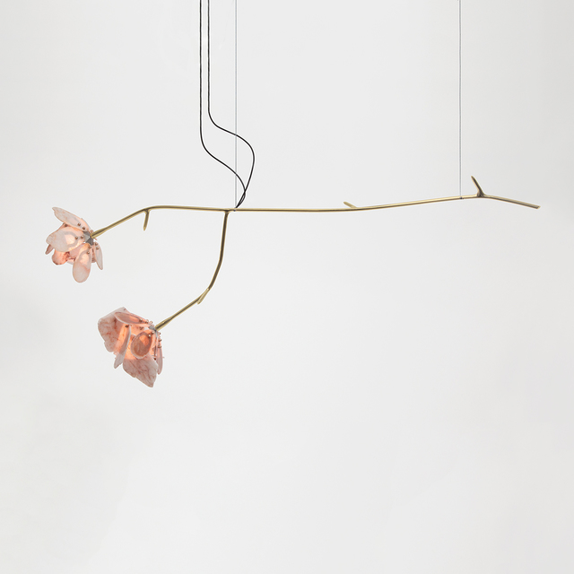 Chen Chen and Kai Williams, 'Double Stone Rose Pendant', 2019, The Future Perfect