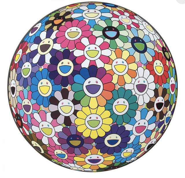 Takashi Murakami, 'Flower Ball: Multicolor', 2015, MSP Modern