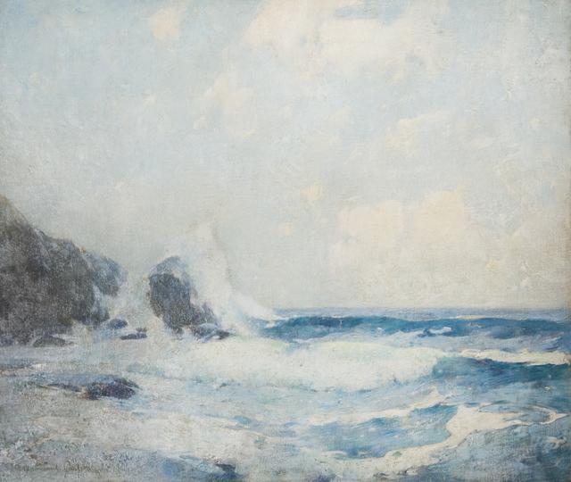 , 'Full Tide, Coast of Maine,,' 1911, Taylor   Graham