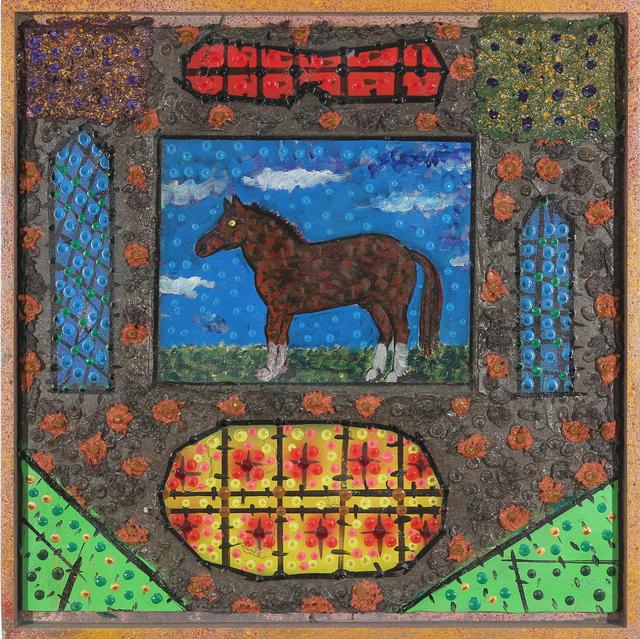 Roy De Forest, 'The Horse', 2000, Brian Gross Fine Art