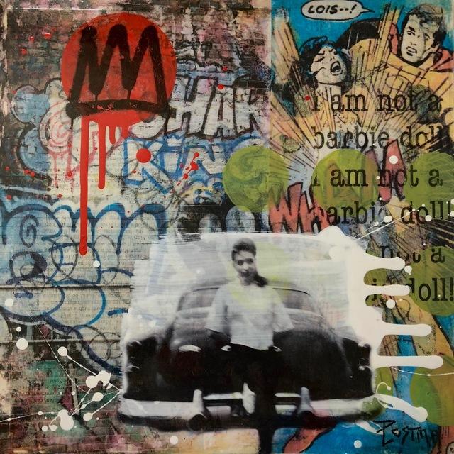 , 'Urban Postcard 3,' 2018, Parlor Gallery