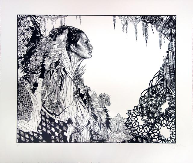 Swoon, 'Ice Queen', 2017, Children's Museum of the Arts Benefit Auction