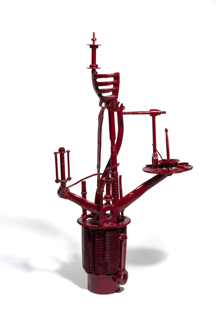 , 'Model of Observation Tower - Red,' 1966-1977, The Mayor Gallery