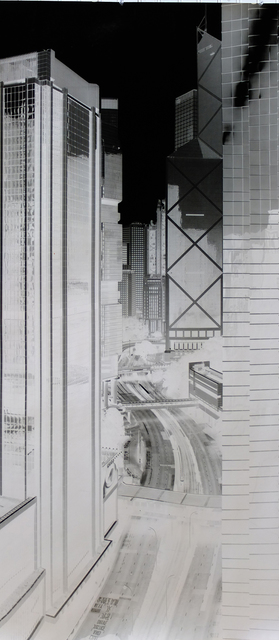 Shi Guorui 史国瑞, 'Queensway Hong Kong 6 May 2014', 2014, Photography, Unique Camera Obscura, gelatin silver print, 10 Chancery Lane Gallery