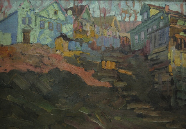 Vasily Leontevich Martynov, 'Late afternoon', 1927, Surikov Foundation