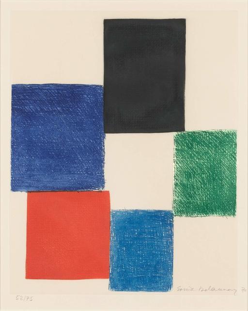 Sonia Delaunay, 'COMPOSITION', 1970, Doyle