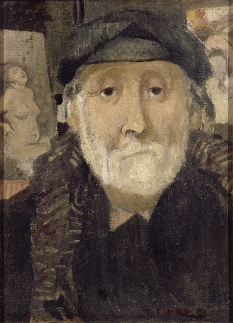 Maurice Denis, 'Portrait of the Painter Degas', 1906, ARS/Art Resource