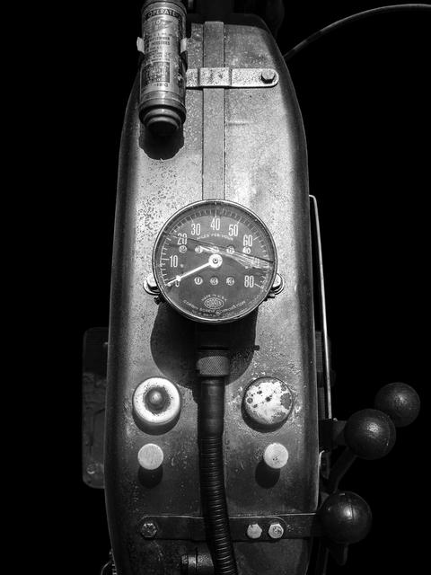 , 'Indian Powerplus (circa 1920's) (Black),' 2015, Galerie de Bellefeuille